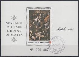 ORDEN DE MALTA 1988 Nº F300 USADO - Malta (la Orden De)