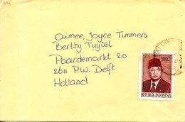 INDONESIE. N°982 De 1983 Sur Enveloppe Ayant Circulé. Président Suharto. - Indonesia