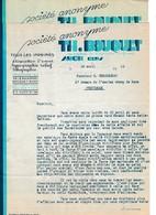 1936 - AUCH (32) - Tous Les Imprimés - S.A. Th. BOUQUET - Imprimerie & Papeterie