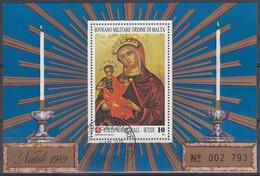 ORDEN DE MALTA 1989 Nº F328 USADO - Malta (la Orden De)