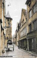 76 ROUEN LA RUE ST ROMAIN COULEUR - Rouen
