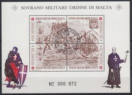 ORDEN DE MALTA 1990 Nº F329 USADO - Malta (la Orden De)