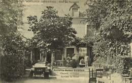 301218B - 37 MONTLOUIS Hôtel Des Voyageurs Ancienne Maison SUBRAN Successeur CHEZAUD Cour De L'hôtel - France