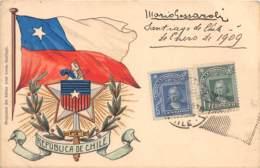 Chili - Oblitérations / 10 - Carte Illustrée - Chili