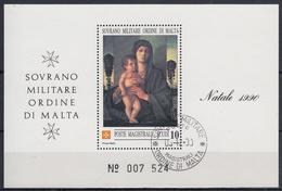 ORDEN DE MALTA 1990 Nº F362 USADO - Malta (la Orden De)