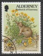 Alderney 1994 -1995 Flora And Fauna 2 P  Multicoloured SW 66 O Used - Alderney