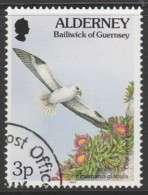 Alderney 1994 -1995 Flora And Fauna 3 P  Multicoloured SW 67 O Used - Alderney