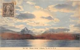 Chili - Oblitérations / 16 - Monte Olivia - Ushuaia - Chili
