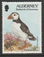 Alderney 1994 -1995 Flora And Fauna 30 P  Multicoloured SW 78 O Used - Alderney