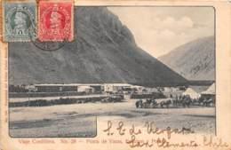 Chili - Oblitérations / 19 - Punta De Vacas - Défaut - Chili