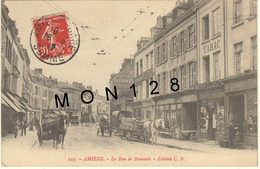 AMIENS (80)  LA RUE DE BEAUVAIS - Amiens