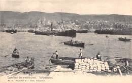 Chili - Valparaiso / 11 - Lanchas De Embarque - Chili