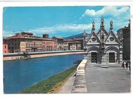 Toscana Pisa Chiesetta Della Spina Sull'argine Dell'Arno Viaggiata 1974 Condizioni Come Da Scansione - Pisa