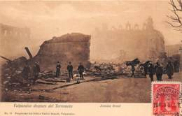 Chili - Valparaiso - Oblitérations / 08 - Despues Del Terremoto - Chili