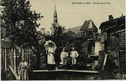 3994 - Hte Marne  -    MONTIER En DER  : Riviére De La Voire - Vieilles Maisons (disparues ???)) - Montier-en-Der