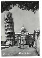 Toscana Pisa Campanile E Abside Del Duomo Viaggiata 1958 Condizioni Come Da Scansione - Pisa