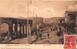 Chili - Valparaiso - Oblitérations / 21 - Despues Del Terremoto - Chili