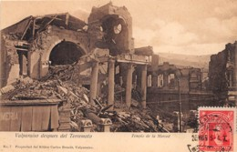 Chili - Valparaiso - Oblitérations / 28 - Despues Del Terremoto - Chili