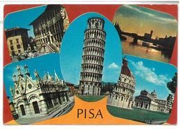 Toscana Pisa 5 Vedute Non Viaggiata Condizioni Come Da Scansione - Pisa
