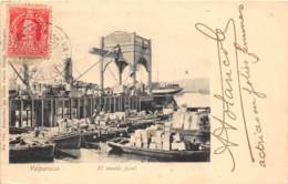 Chili - Valparaiso - Oblitérations / 33 - El Muelle Fiscal - Chili