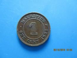 ÎLE MAURICE 1 Cent Georges V 1921, TTB - Mauritius