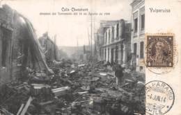 Chili - Valparaiso - Oblitérations / 35 - Calle Chacabuco - - Chili