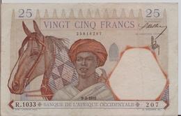 FRENCH WEST AFRICA P. 27 25 F 1939 VF - États D'Afrique De L'Ouest