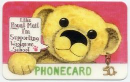 Nounours Bear  Teddy Enfant Jeu Peluche Carte BD Phonecard  International Telefonkarten  (G 674) - Jeux