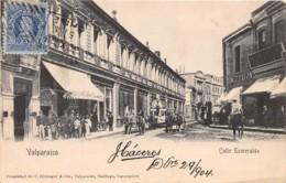 Chili - Valparaiso - Oblitérations / 41 - Calle Esmeralda - Chili