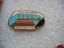 Pin's EDF Blenod, Le Service Manutention Du Combustible. Assurer L'approvisionnement En Combustible : - EDF GDF