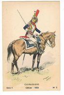 Uniforme Militaire.Cuirassiers.Officier. 1806.  Maurice Toussaint. (41) - Uniformen