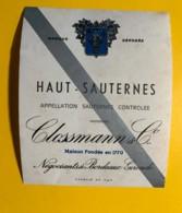 9440 - Haut-Sauternes Clossmann - Bordeaux