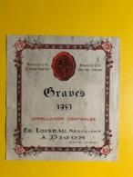 9452 -  Graves 1953 - Bordeaux