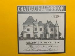 9454 -   RARE 1929 Château Haut-Brion Graves - Bordeaux