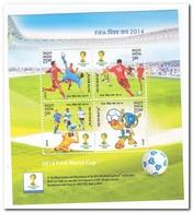 India 2014, Postfris MNH, Football - India