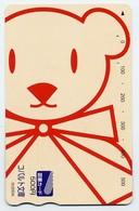 Nounours Bear  Teddy Jeu Peluche Carte Prépayée Japon Card Karten  (G 683) - Games