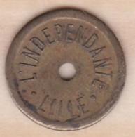 Nord - 59 .  L'Indépendant – Lille – 1 Benefice . – Petit Caractère - Monétaires / De Nécessité