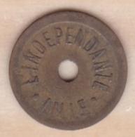 Nord - 59 .  L'Indépendant – Lille – 1 Benefice . – Gros Caractère - Monétaires / De Nécessité