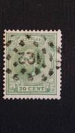 Nederland/Netherlands - Puntstempel 122 Op Nr. 24G - 1852-1890 (Guillaume III)