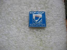 Pin's EDF-GDF Services - EDF GDF
