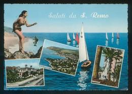 Italia. *Saluti Da S. Remo* Ed. Ce. Ca. Mi. Nueva. - San Remo