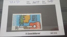 LOT 433562 TIMBRE DE COLONIE POLYNESIE NEUF* N°28 - Polynésie Française