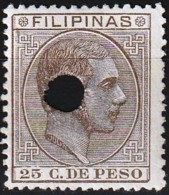 Philippines 1886 - King Alfonso XII - Telegraph ( Mi Xx - YT Te27 ) MNH** - Filipinas