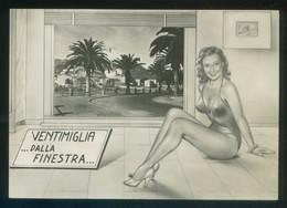 *Ventimiglia... Dalla Finestra...* Ed. Giefe Nº 1092. Escrita. - Otras Ciudades