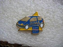 Pin's EDF-GDF, Twingo DIMA (dispositif D'initiation Aux Métiers En Alternance) - EDF GDF