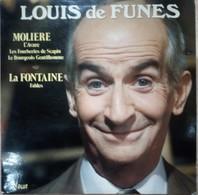 Disque 33 T De Louis De Funes (Moliere-la Fontaine Fables) - Musique De Films