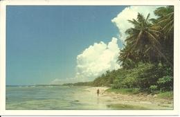 """Juan Dolio (Republica Dominicana) The Beach, La Plage, Der Strand, Thematic Stamp """"Atlanta '96 Judo"""" - Dominica"""