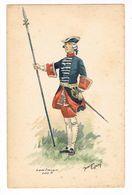 Uniforme Militaire. Garde Française. Louis XV.  Maurice Toussaint. (55) - Uniformes