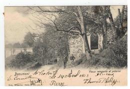Beaumont   Vieux Rempart Et Poterne 1903 - Beaumont