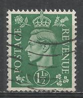 Great Britain 1951. Scott #282 (U) King George VI * - 1902-1951 (Rois)
